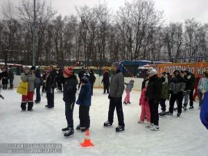 Спортивные соревнования на льду