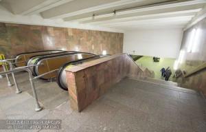 Эскалаторы на одной станций метро Южного округа