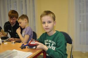 Воспитанник центра внешкольной работы «На Сумском» Денис Аболяев