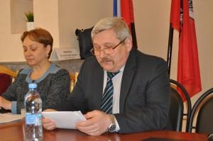 Руководитель Инженерной соужбы района Владимир Куликов
