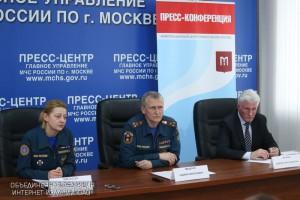 Пресс-конференция заместителя начальника столичного ведомства, полковника Андрея Мищенко