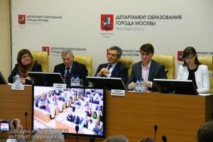 Пресс-конференция в Департаменте образования