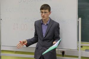 Ученик школы №1158 Никита Холоднов