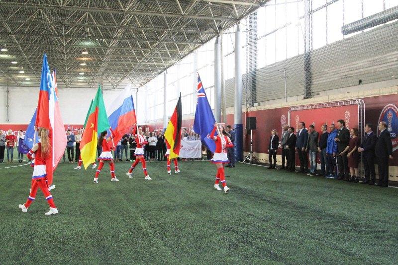 В столицеРФ подчеркнули 100 дней достарта Кубка конфедераций ФИФА