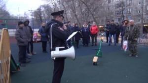 Участковый Кирилл Колабушкин отчитался перед местными жителями