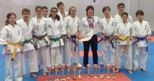Юные победители чемпионата