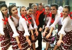Танцевальный коллектив De Las Llamas показал необычное выступление на фестивале альтернативного фламенко