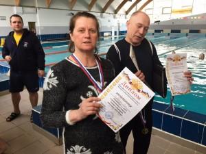 Пловцы района заняли призовое третье место на окружных соревнованиях