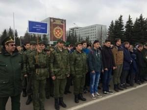 Ребята из школы №1179 посетили экскурсию по войсковой части