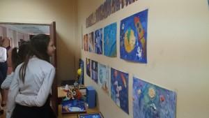 Выставка в школе №1623