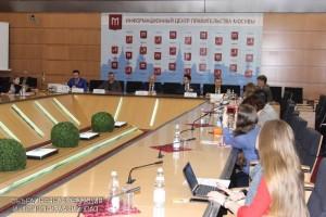Очередная пресс-конференция состоялась в Москве