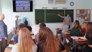 Экологические уроки провели для учащихся лицея №1158