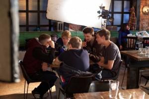 Актеры сериала ZКД на обсуждении съемок