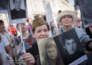 """Акция """"Бессмертный полк"""" в Москве пройдет 9 мая"""