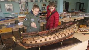 Воспитанники студии судостроения посетили Всероссийский чемпионат