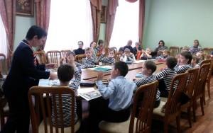 Воспитанники студии Центра внешкольной работы продемонстрировали свои знания родителям