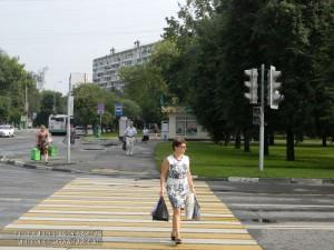 Светофоры в районе Чертаново Северное