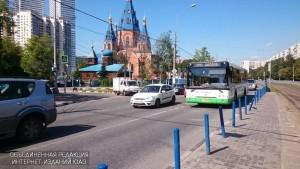 Автобус в районе Чертаново Северное