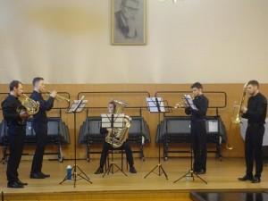 Концерт медных духовых инструментов состоялся в ДШИ района