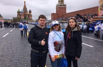 Председатель молодежной палаты района Алексей Лукоянов