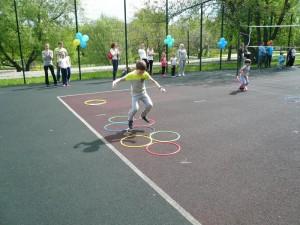 Праздник для детей организовали на прошедших выходных