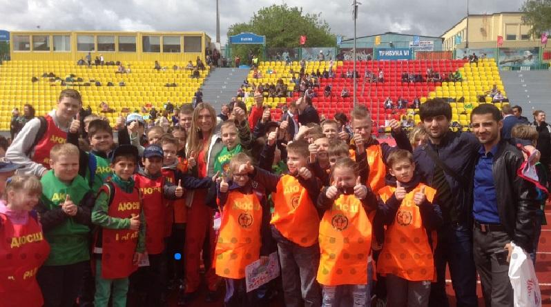 Ребята продуктивно провели время в лагере Московского центра боевых искусств