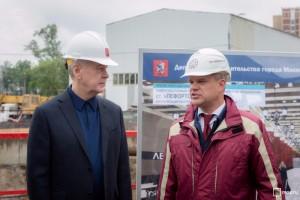 В активной фазе строительства находится более 25 км Третьего пересадочного контура метро - мэр Москвы Сергей Собянин