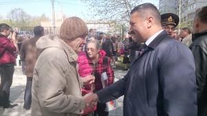 Депутат Назиржон Абдуганиев на Дне Победы