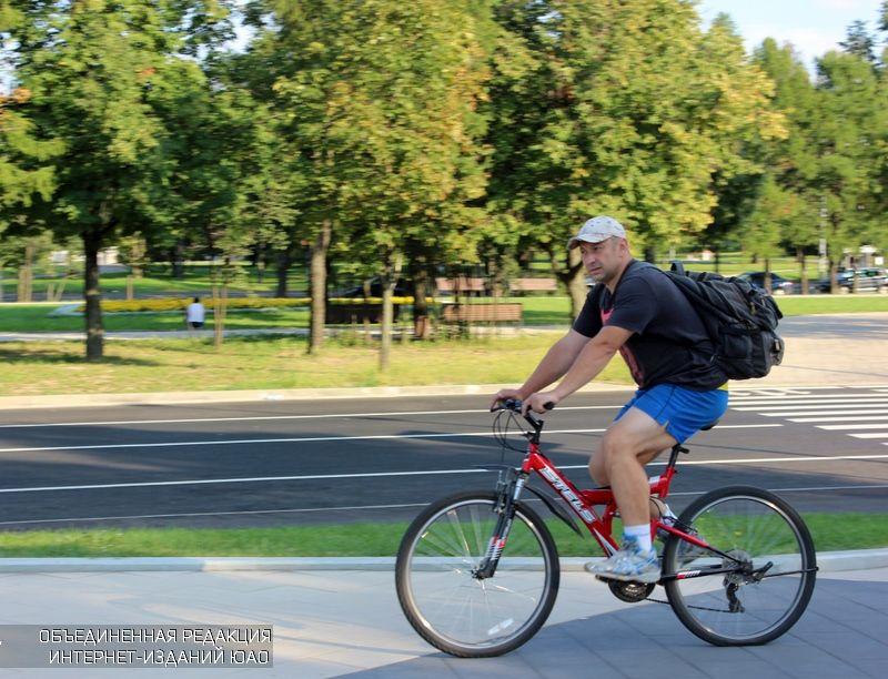 По удобному маршруту велосипедисты района смогут добраться до центра города
