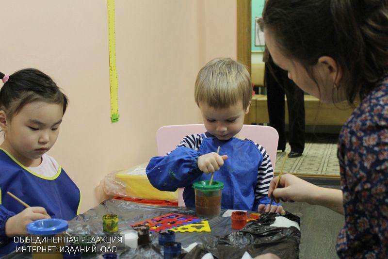 Творческий кружок для самых маленьких открыл набор детей