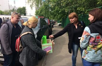 Активисты молодежной палаты района провели акцию против курения