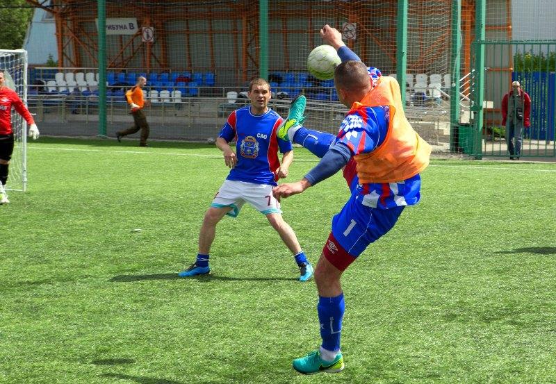 Соревнования по мини-футболу провели в районе