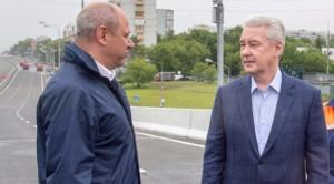 Пропускная способность Аминьевского шоссе после реконструкции вырастет на 30% - мэр Москвы Сергей Собянин