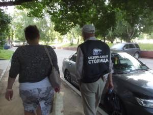 """Активисты """"Безопасной столицы"""" в районе"""