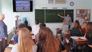 Экологический урок в лицее №1158