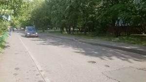 Проезд между улицами в районе