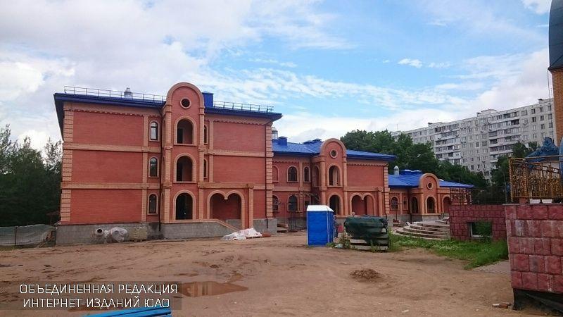 Здание дома-причты в Чертаново Северном