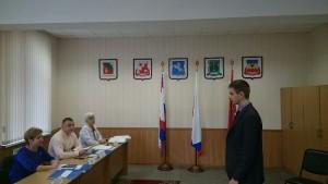 Заседание призывной комиссии в районе
