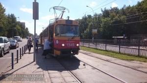 Автобусный маршрут заменит трамвай №3 на одну ночь