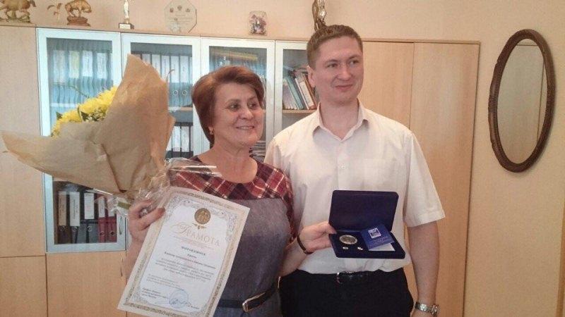 Татьяну Киркову наградили за сохранение семейных ценностей