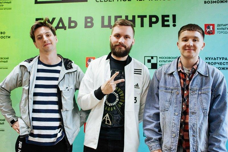 """Участники группы """"Хлеб"""" выступили в роли жюри на конкурсе """"Лайн-ап"""""""