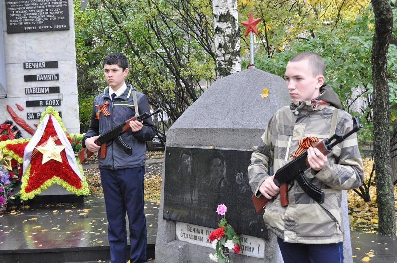 Прошел митинг памяти у мемориала погибшим летчикам