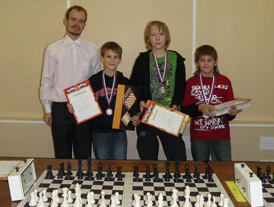 Сергей Шариков с воспитанниками