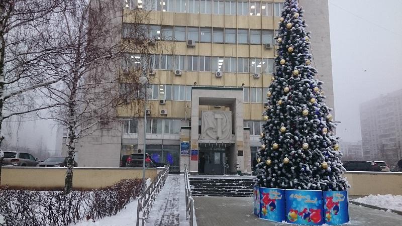 Район Чертаново Северное преобразился к Новому году