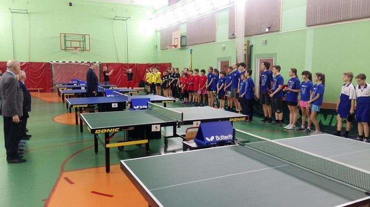 На полуфинале Первенства Москвы по настольному теннису