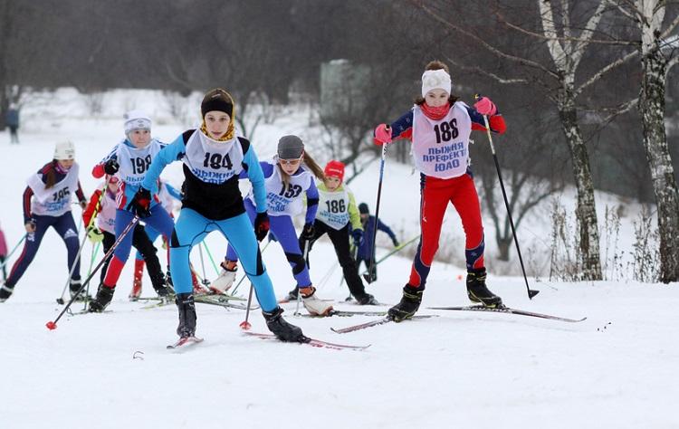 Лыжные гонки пройдут в ЮАО
