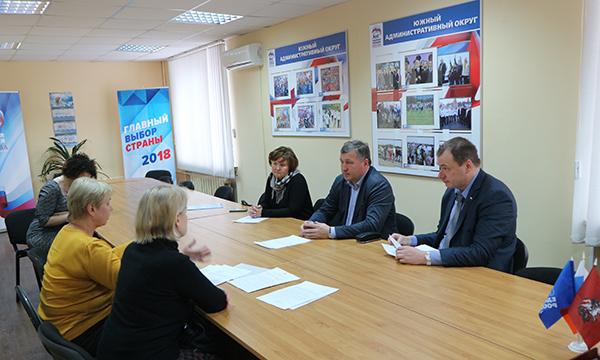 Депутаты обсудили с жителями волнующие их вопросы