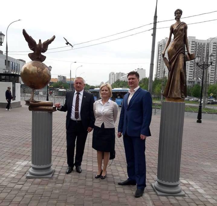 Александр Демин, Александр Тозик и Лариса Зайцева