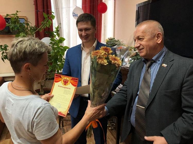 Соцработников района поздравили с профессиональным праздником