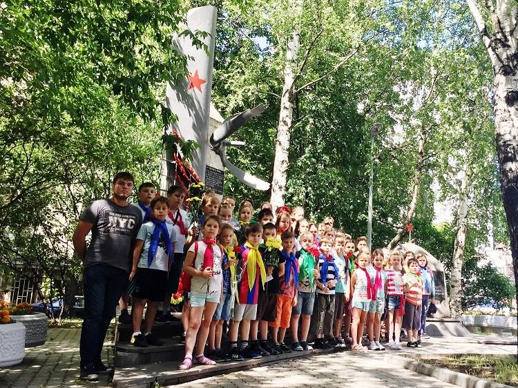 Участники культурно-образовательной программы «Летняя карусель»